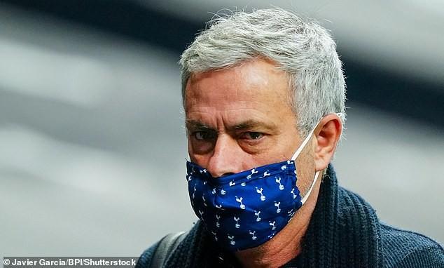 Mourinho đang là HLV trưởng Tottenham. ẢNH: BPI