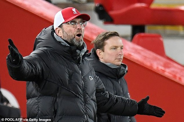 Klopp tuyên bố Liverpool đã sẵn sàng đấu MU. ẢNH: GETTY