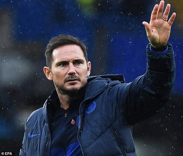 Lampard không còn là HLV trưởng Chelsea. ẢNH: EPA