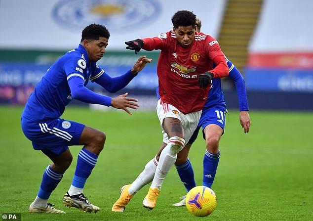 MU sẽ đối đầu với Leicester City ở tứ kết FA Cup. ẢNH: PA
