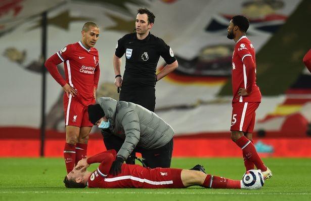 Những chấn thương khiến Liverpool khủng hoảng nghiêm trọng ở mùa giải năm nay. ẢNH: LIVERPOOL