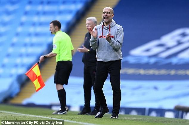Pep Guardiola biến Man City thành đội bóng không thể bị đánh bại. ẢNH: GETTY