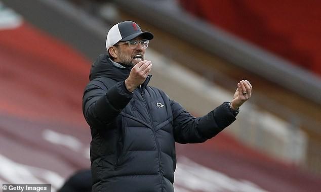 """Klopp chưa thể giúp Liverpool vượt qua """"giông bão"""". ẢNH: GETTY"""