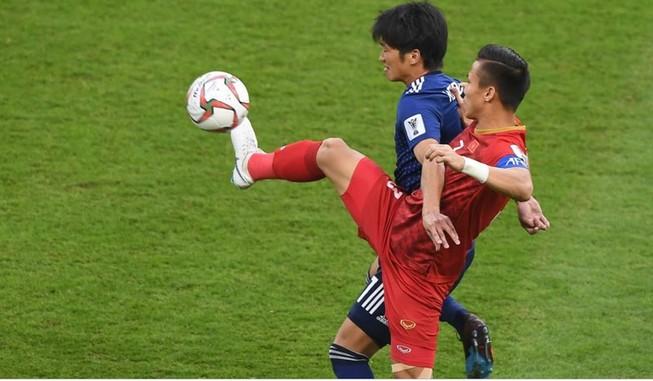 Việt Nam đã chơi một trận đấu kiên cường khiến Nhật Bản phải bung hết sức.