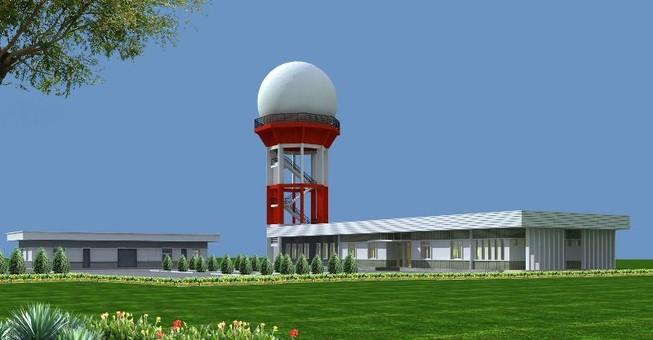 Trạm radar Vinh giám sát vùng trời độ cao 500-10.000 m