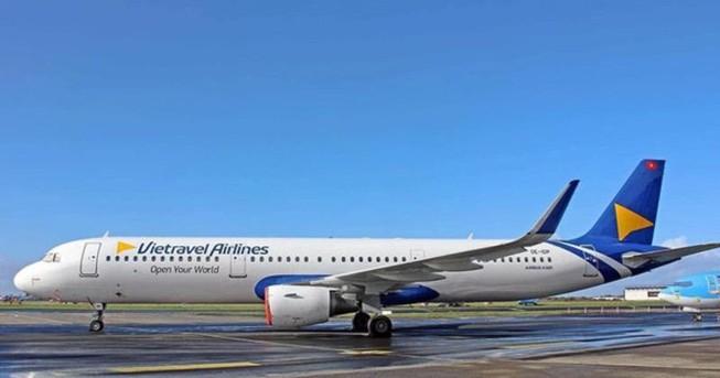 Tân binh Vietravel Airlines nhận chiếc máy bay đầu tiên