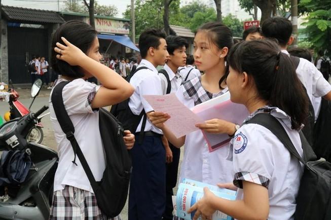 Đề thi tiếng Anh lớp 10: Có sự phân hóa rõ rệt