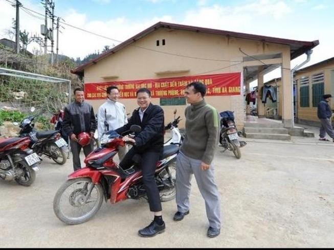 Trường ĐH Mỏ công bố loạt hình ảnh của Thứ trưởng Lê Hải An