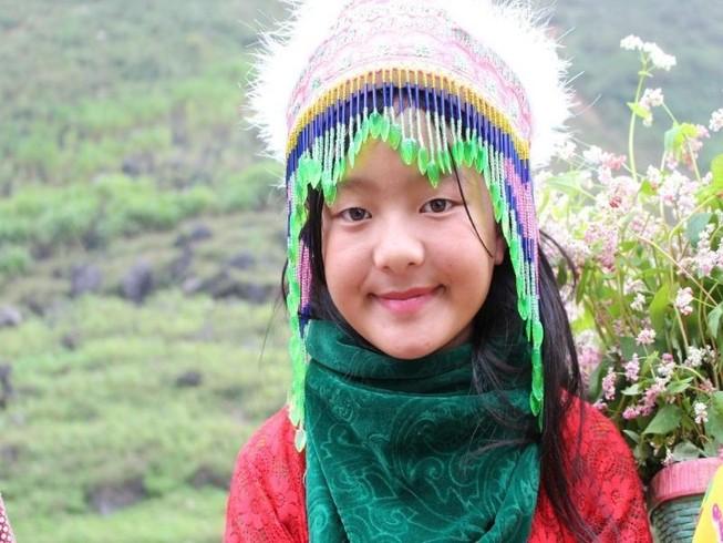 Ngắm nụ cười trong veo của những đứa trẻ vùng cao Hà Giang