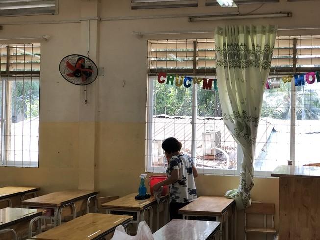 Trường Tiểu học Trần Quốc Thảo, quận 3 tổng vệ sinh trường lớp