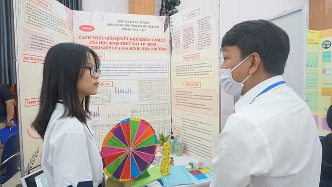 50 đề tài nghiên cứu tranh tài tại cuộc thi KHKT cấp TP