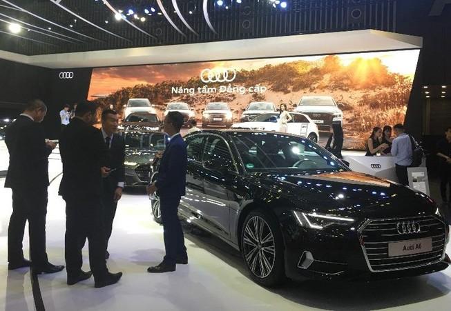 Xe hơi nhập từ châu Âu, thương hiệu xe Đức 'lấn át'