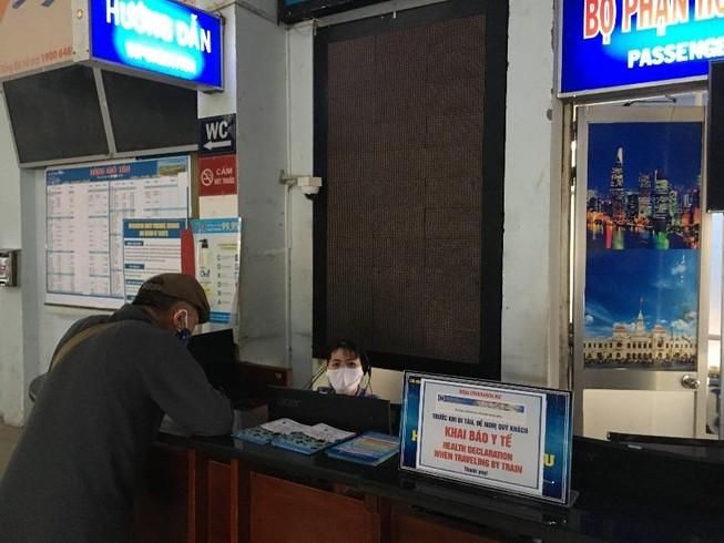 Chạy thêm tàu hỏa đi Nha Trang, Phan Thiết dịp Tết Dương lịch