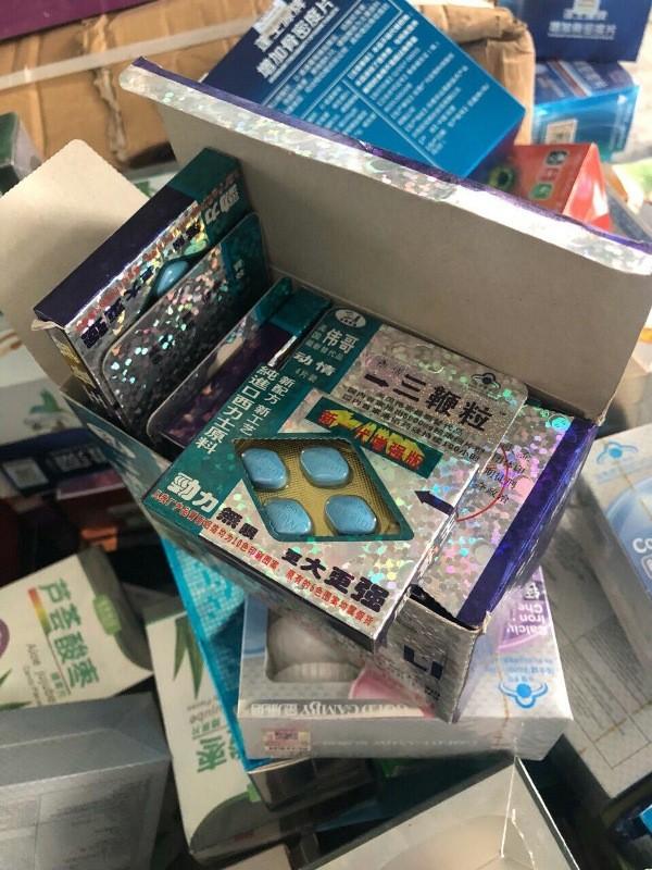 Phát hiện 2.500 hộp thuốc Trung Quốc nghi cường dương