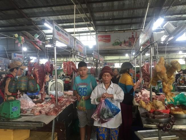 30 tết, giá thịt heo tại TP.HCM tăng