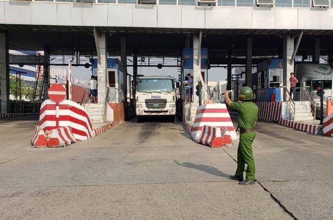 1 tài xế dương tính với ma túy tại cảng Cát Lái