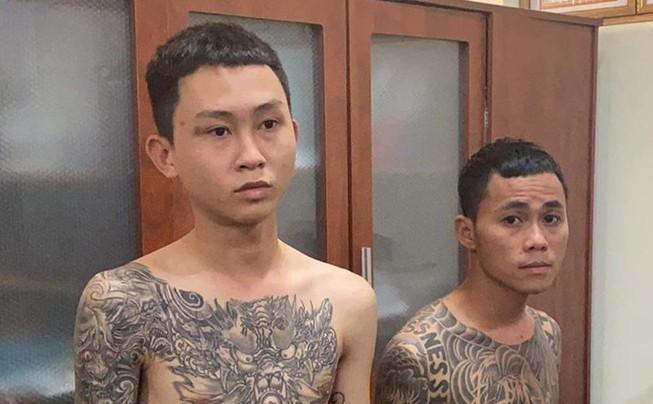 Võ Tấn Quang và Nguyễn Cao Minh Trí bị công an bắt giữ. Ảnh: TS