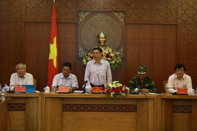 Khánh Hòa ngưng các cuộc họp để chống bão