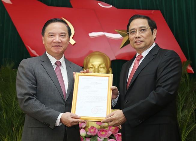Ông Nguyễn Khắc Định chính thức là bí thư Tỉnh ủy Khánh Hòa