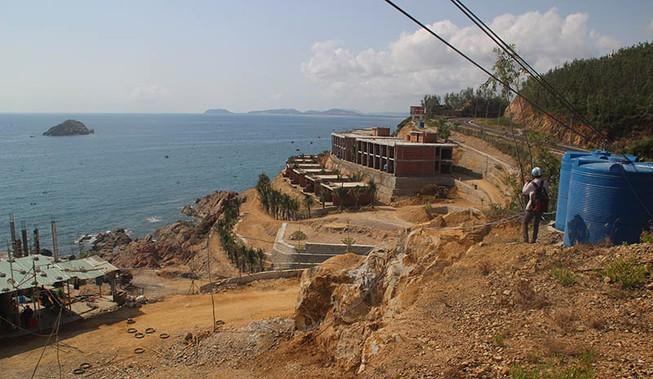 2 dự án nghỉ dưỡng ở Bình Định xây sai phép