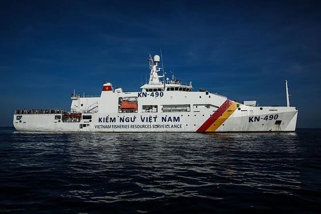 3 tàu kiểm ngư tìm kiếm ngư dân Bình Định mất liên lạc