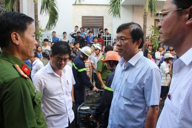 Cháy nhà ở trung tâm Đà Nẵng, gia chủ tử vong