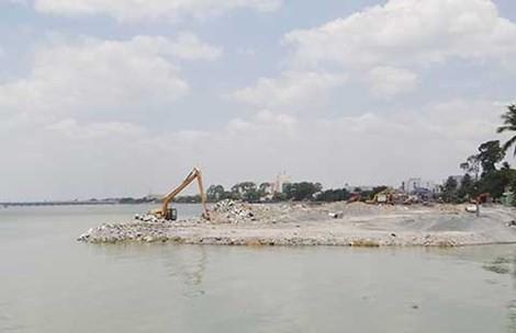 Đề nghị Thủ tướng chỉ đạo Đồng Nai tiếp tục dừng dự án lấn sông
