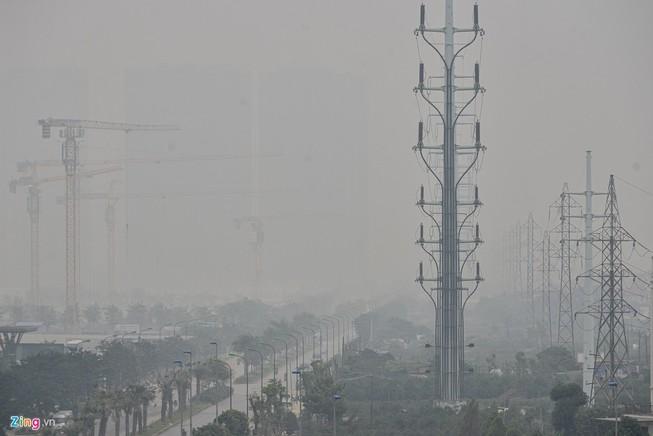 Chất lượng không khí tại Hà Nội liên tục ở mức nguy hại