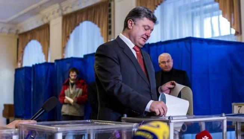 Bầu cử Ukraine: Sơ bộ khối Poroshenko tạm dẫn đầu