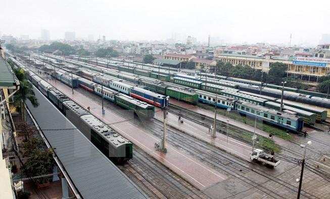Chạy thêm 84 chuyến tàu tuyến Hà Nội-TP HCM phục vụ nghỉ lễ 30/4