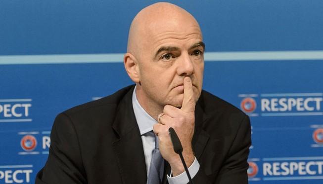 Ngày làm việc đầu tiên của tân Chủ tịch FIFA Gianni Infantino