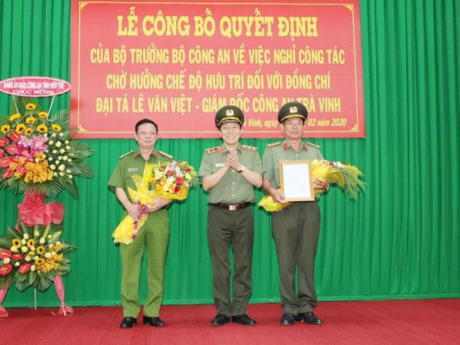 Đại tá Huỳnh Văn Thình phụ trách Công an tỉnh Trà Vinh