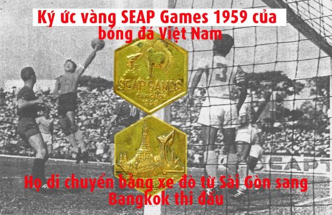 Nhọc nhằn chiếc HCV bóng đá SEAP Games 1959