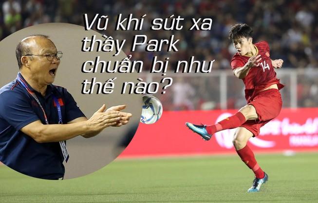 Vũ khí sút xa được ông Park cho học trò thực hiện liên tục