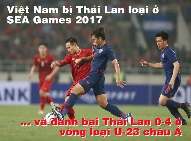 Xem U-23 Việt Nam bị Thái Lan 'hành' và xem cuộc đòi nợ 4-0