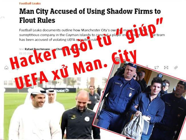 Hacker 'giúp' UEFA bằng chứng xử Man. City