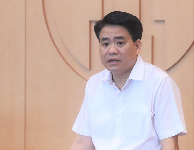 Xét xử kín cựu chủ tịch Hà Nội Nguyễn Đức Chung - ảnh 1