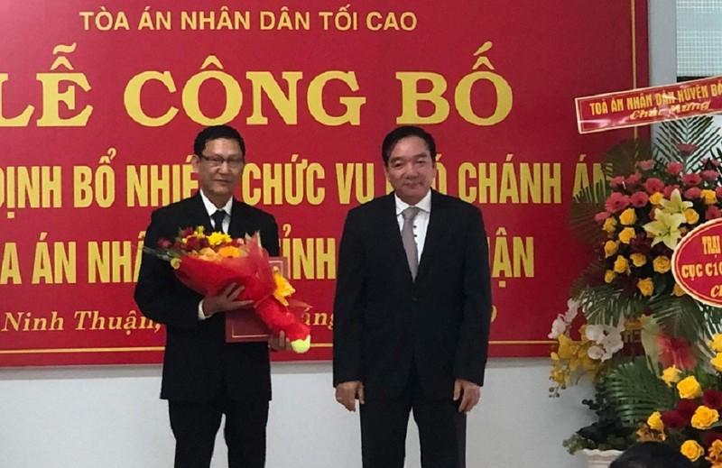Nhân viên mới tỉnh Ninh Thuận - ảnh 1
