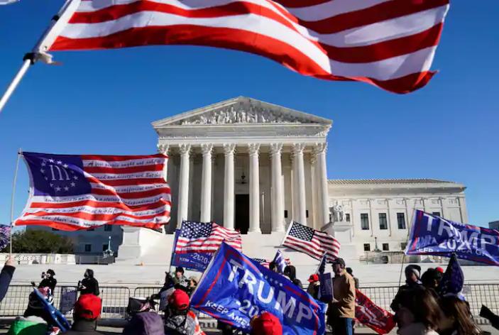 Tòa án tối cao Mỹ bác đơn phía ông Trump kiện Pennsylvania - ảnh 1