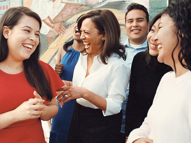 Kamala Harris - nữ phó tổng thống phá vỡ mọi rào cản - ảnh 1