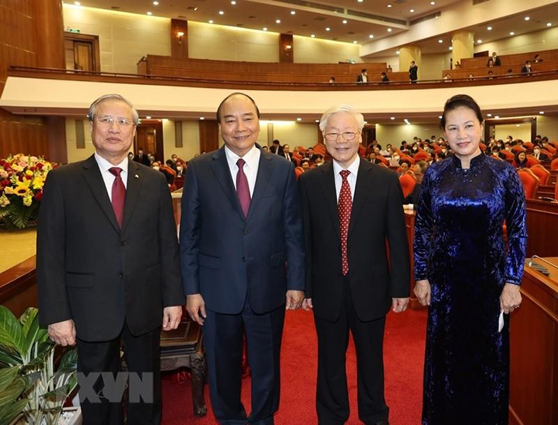 Chùm ảnh lãnh đạo Đảng, Nhà nước tại Hội nghị Trung ương 14 - ảnh 4