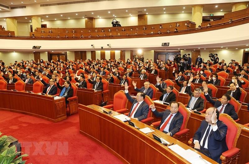 Chùm ảnh lãnh đạo Đảng, Nhà nước tại Hội nghị Trung ương 14 - ảnh 2