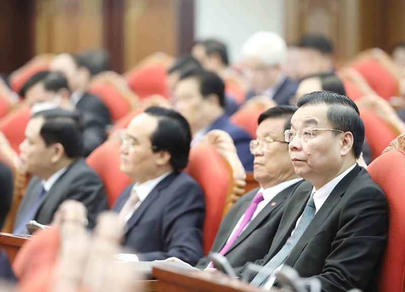 Chùm ảnh lãnh đạo Đảng, Nhà nước tại Hội nghị Trung ương 14 - ảnh 15