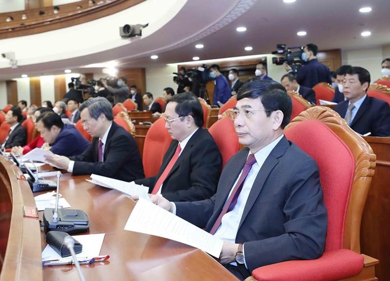 Chùm ảnh lãnh đạo Đảng, Nhà nước tại Hội nghị Trung ương 14 - ảnh 6