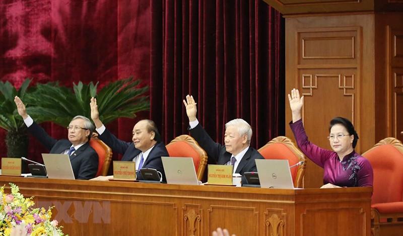 Chùm ảnh lãnh đạo Đảng, Nhà nước tại Hội nghị Trung ương 14 - ảnh 9