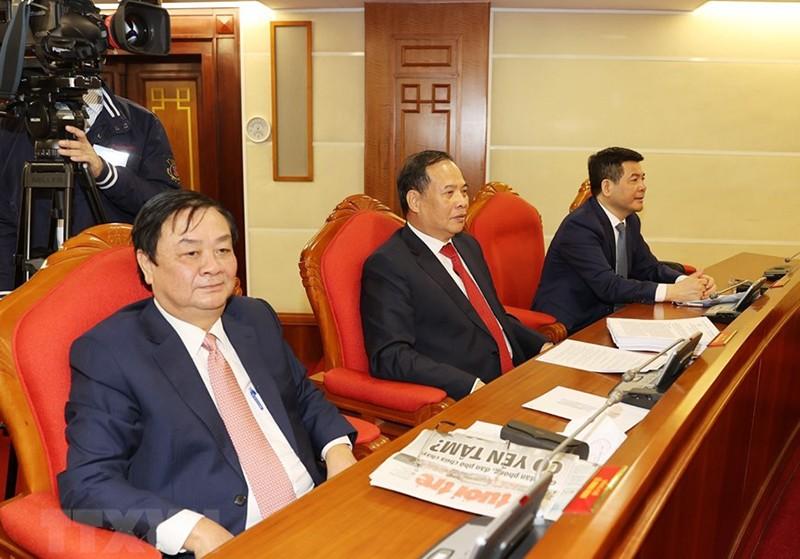 Chùm ảnh lãnh đạo Đảng, Nhà nước tại Hội nghị Trung ương 14 - ảnh 14