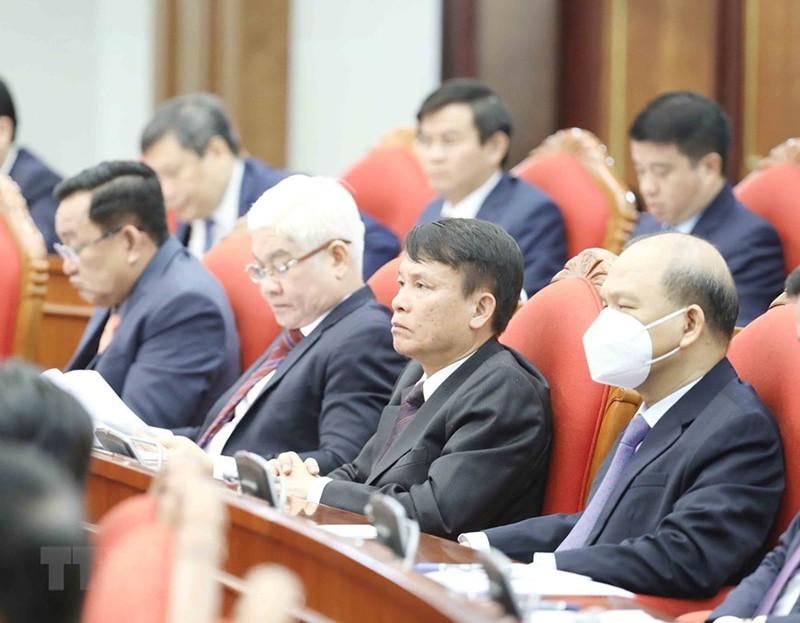 Chùm ảnh lãnh đạo Đảng, Nhà nước tại Hội nghị Trung ương 14 - ảnh 7
