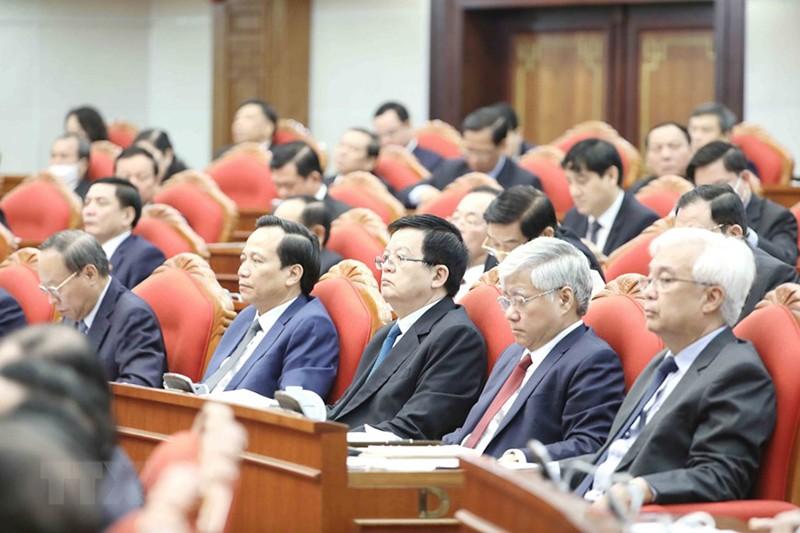 Chùm ảnh lãnh đạo Đảng, Nhà nước tại Hội nghị Trung ương 14 - ảnh 8