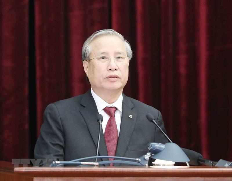 Chùm ảnh lãnh đạo Đảng, Nhà nước tại Hội nghị Trung ương 14 - ảnh 5
