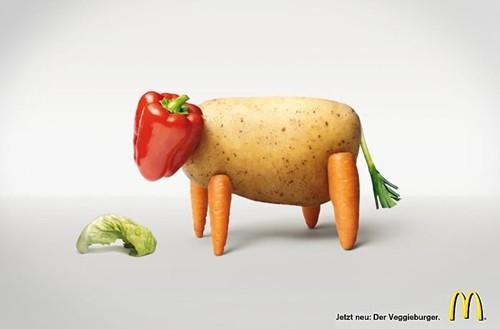 Ý tưởng quảng cáo độc đáo từ thức ăn - ảnh 2